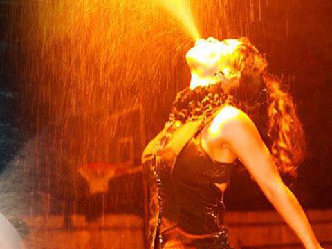 Natalie Fire Performer