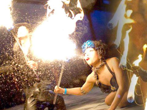 Sky & Vlad Fire Performer Duo