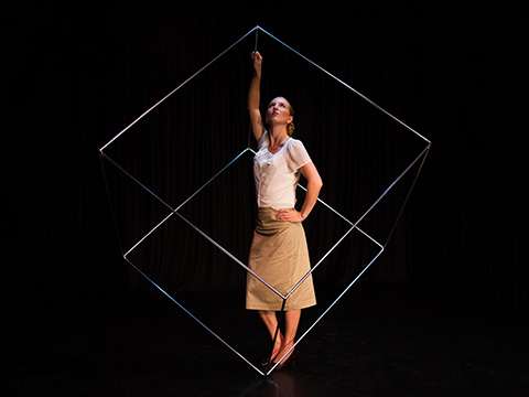 Alyssa Morar- Cube Act/Aerialist